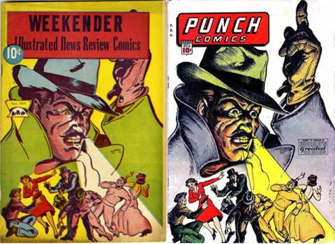 Weekender Vol. 1 No. 4 and Punch Comics 10