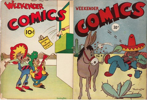 Two unnumbered Weekenders by Super Publications