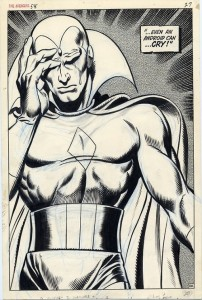 Avengers issue 58 page 27 by John Buscema and George Klein
