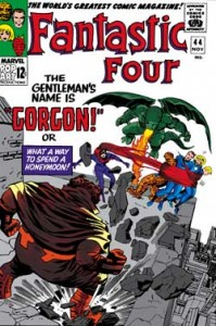 Fantastic Four issue 44 cover
