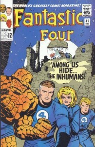 Fantastic Four issue 45 cover