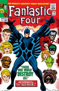 Fantastic Four issue 46 cover