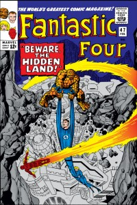 Fantastic Four issue 47 cover