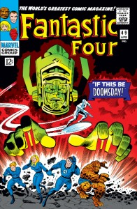 Fantastic Four issue 49 cover