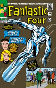 Fantastic Four issue 50 cover