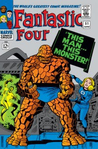 Fantastic Four issue 51 cover