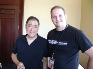 Larry Hama and Ed Campbell Canadian GI Joe Convention