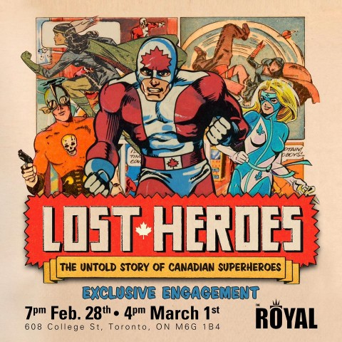 Lost Heroes The Royal Engagement Poster