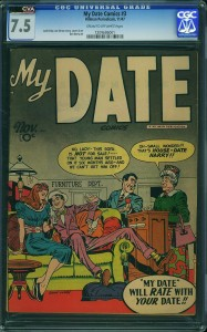 My Date issue 3 CGC 7.5
