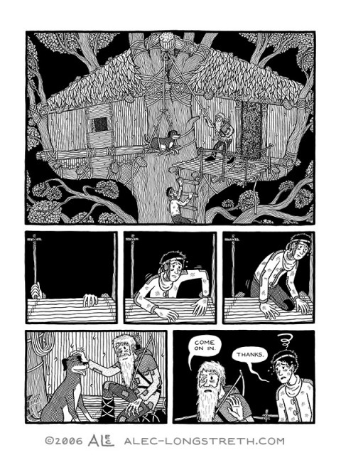 Another interior page from Basewood