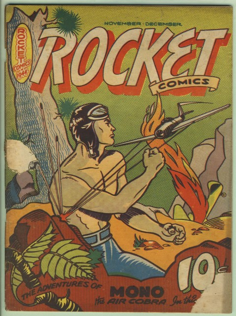 Rocket Comics Vol. 3 No. 1.