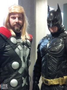Thor and Batman