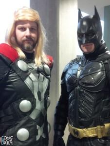Thor and Batman
