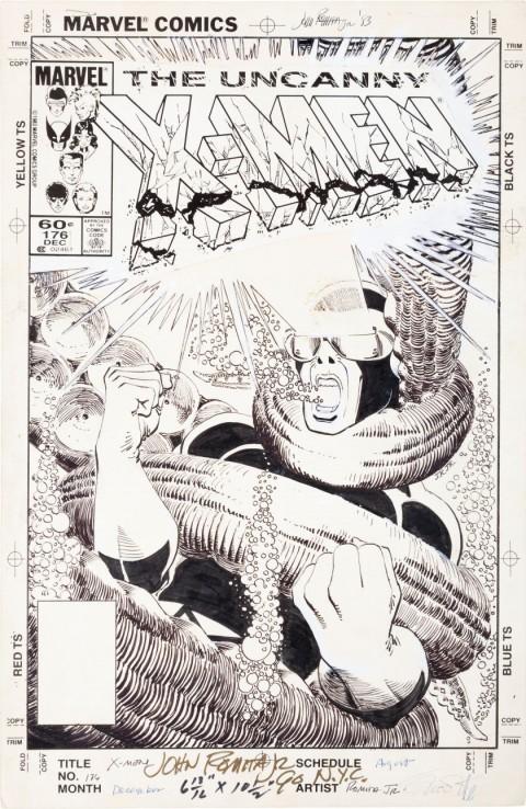 Uncanny X-Men issue 176 cover by John Romita Jr.