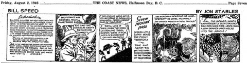 The first Coast News Bill Speed weekly from Aug. 2, 1946