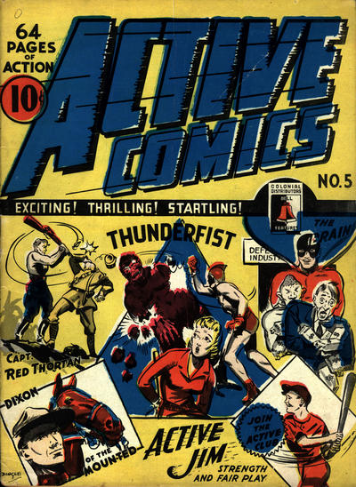 Adrian Dingle Thunderfist cover from Active 5