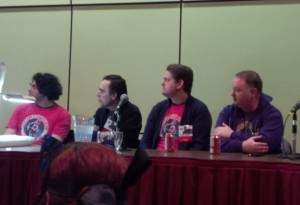 Captain Canuck Panel Toronto ComiCon