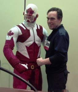 Captain Canuck and Richard Comely