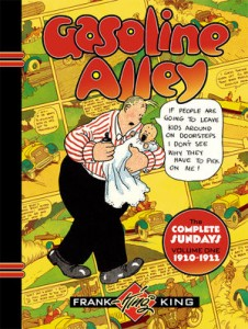 Gasoline Alley The Complete Sundays Vol 1, 1920-1922 cover