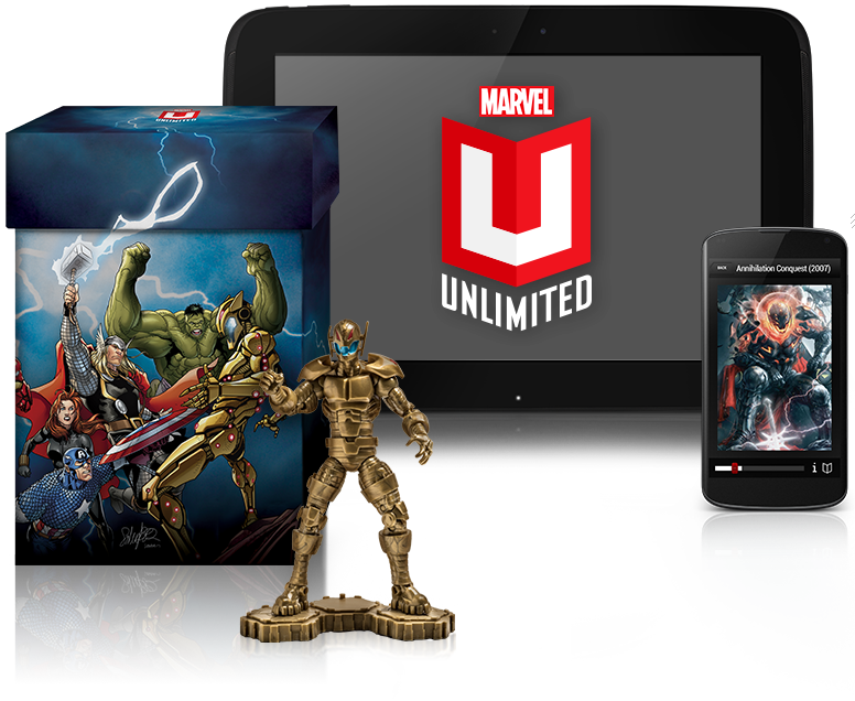 Marvel Unlimited: Now with Sound!