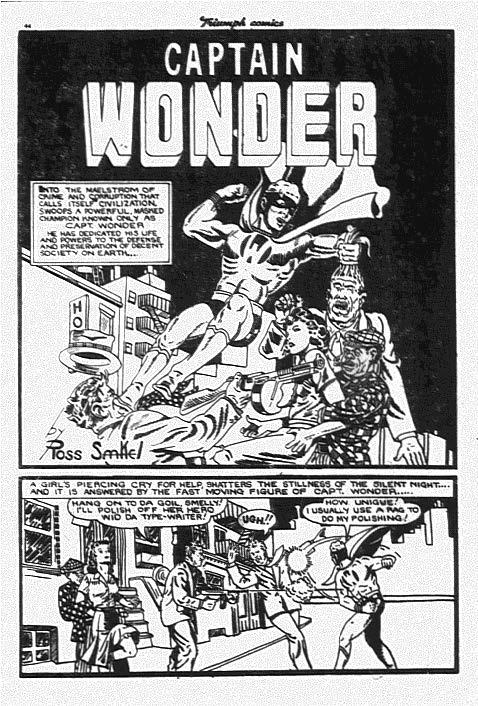 Ross Saakel from Triumph Comics 13