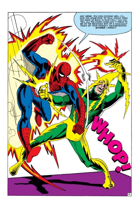 Spider-Man and Electro by Steve Ditko