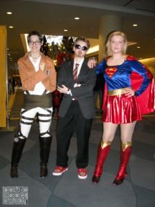 Attack on Titan, Tony Stark, Supergirl