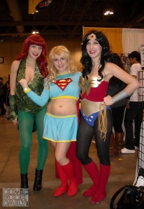 Poison Ivy, Supergirl and Wonder Woman