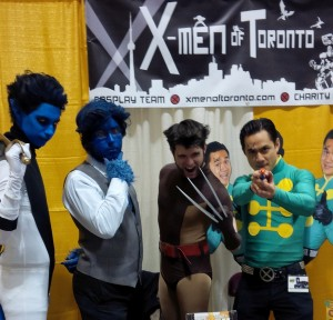 X-Men of Toronto ComiCon