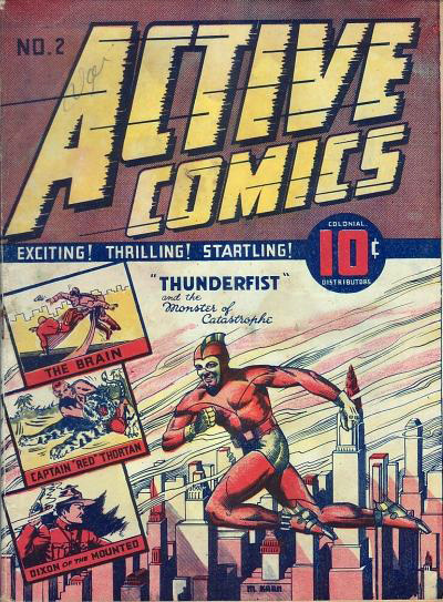 Murray Karn Thunderfist cover from Active 2
