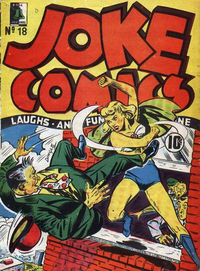 Dingle Wing cover from Joke Comics 18