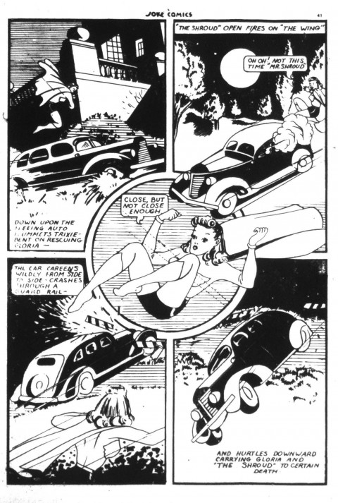 A typical Hilkert page from Joke Comics 4