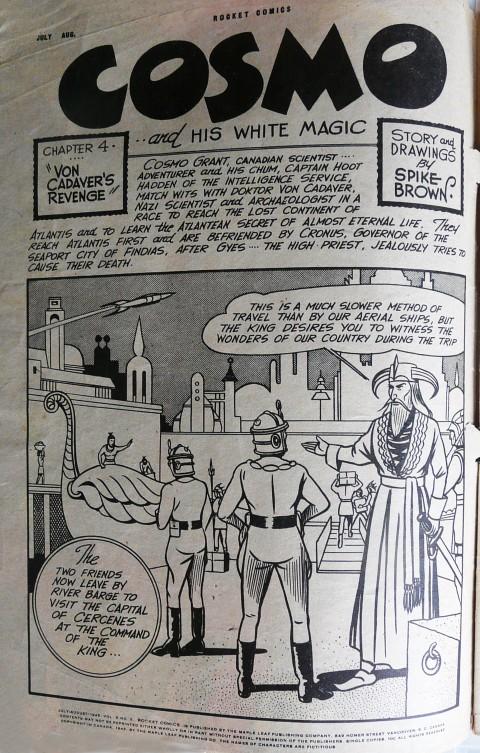 Spike Brown from Rocket Comics Vol. 5 No. 5