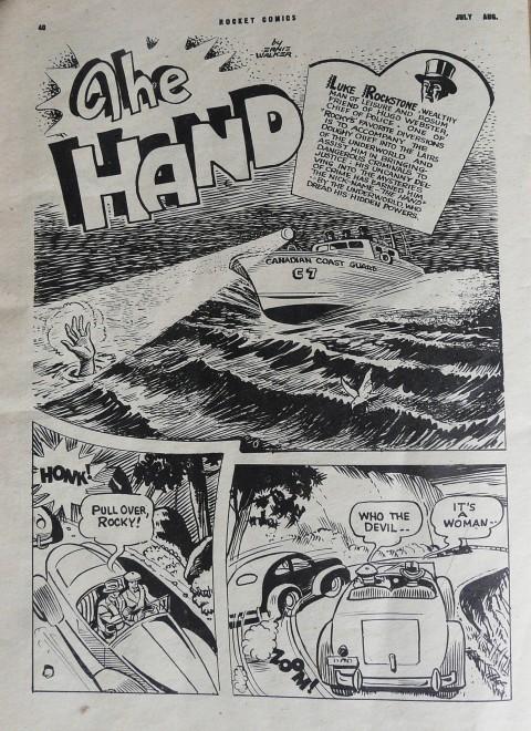 Ernie Walker from Rockte Comics Vol. 5 No. 5