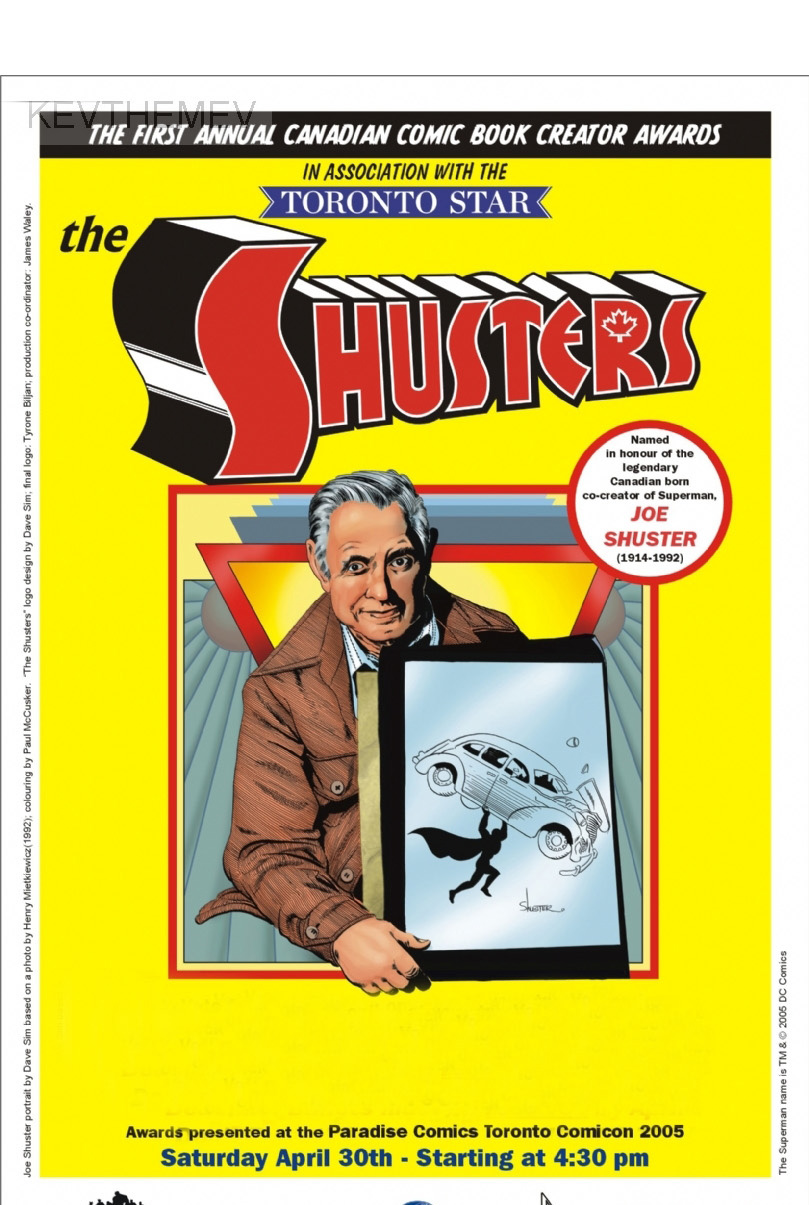 Joe Shuster Awards Hall of Fame 2014