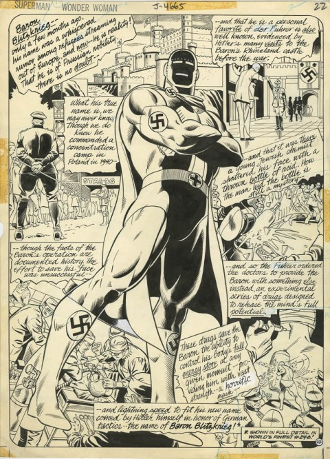 All-New Collectors Edition issue 54 page 22 by Jose Garcia-Lopez and Dan Adkins.  Source.