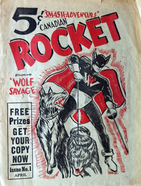 Cover of Canadian Rocket V. 1 N. 1, April 1941
