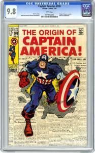 Captain America 109 9.8