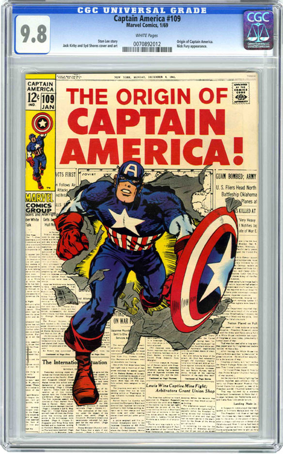 Cap's Artist Alley Part One: Captain America 109-113