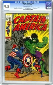 Captain America 110 9.8