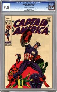 Captain America 111 9.8
