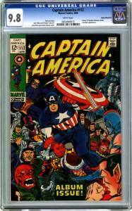 Captain America 112 9.8