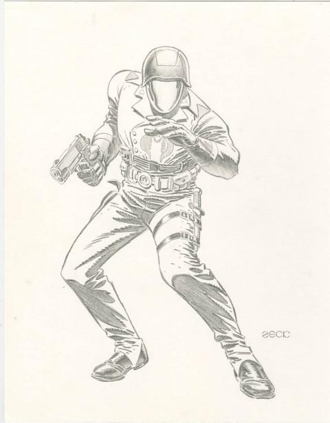 Cobra Commander by Mike Zeck.  Source.