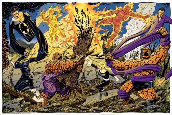 John Byrne and the Fantastic Four