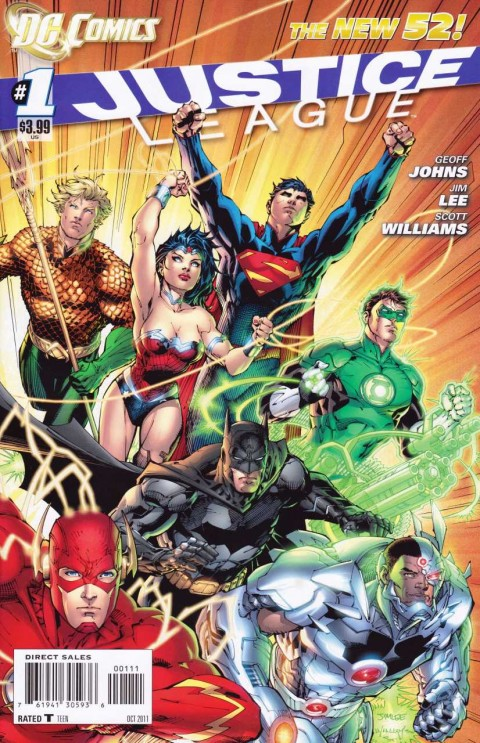Justice League issue 1