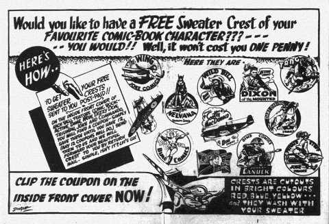 The centrespread from Triumph 13 explaining the promotion.