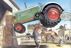 Superman tractor