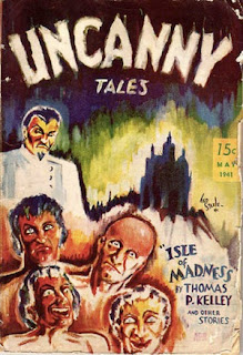 Uncanny Tales May, 1941