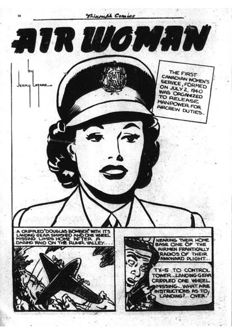 Jerry Lazare's Airwoman
