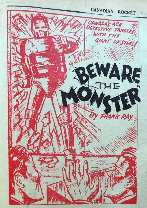 Graphic from the Dan Slade detective story.